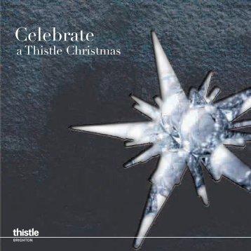 Celebrate - Thistle Hotels