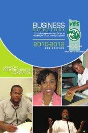 Business Directory - Youth Entrepreneurship Scheme (YES)