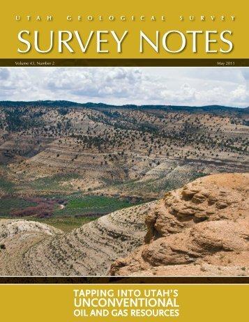 UNCONVENTIONAL - Utah Geological Survey - Utah.gov