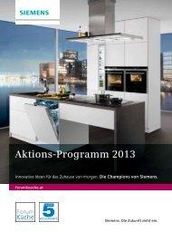 Aktionsprogramm 2013 - Siemens