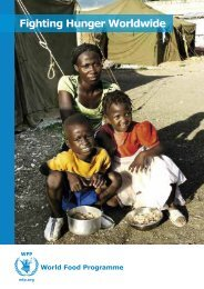 Fighting Hunger Worldwide - WFP Remote Access Secure Services