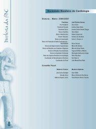 Diretoria e Comissões - 66 Congresso Brasileiro de Cardiologia
