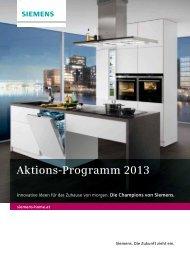 Aktions-Programm 2013 - Siemens
