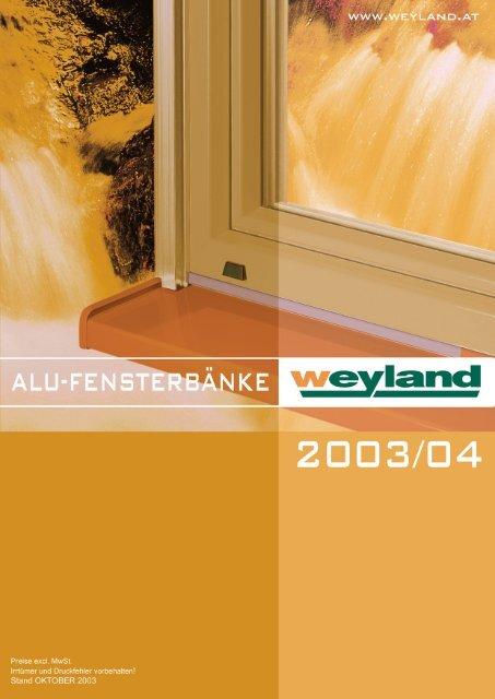 Alu-Fensterbank WFB 25