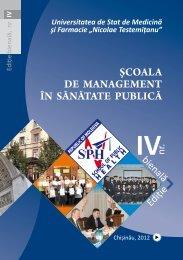 IV - Şcoala de Management în Sănătate Publică