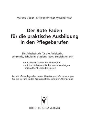 Margot Sieger · Elfriede Brinker-Meyendriesch: Der ... - Buchhandel.de