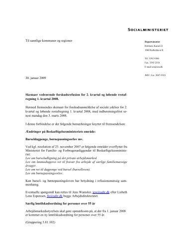 Til samtlige kommuner og regioner 30. januar 2009 ... - Social