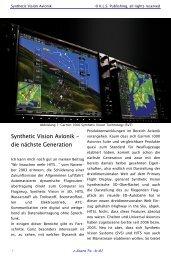 Synthetic Vision Avionik – die nächste Generation - KLS Publishing