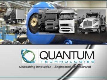 Quantum Technologies Corporate Presentation