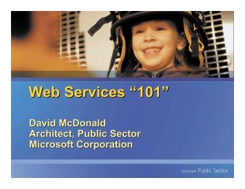 "Web Services ""101"" - Federation of Tax Administrators"