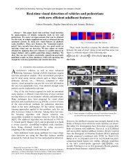 Real-time visual detection of vehicles and pedestrians with new ...