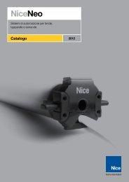Catalogo - Nice SpA