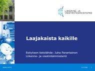 esitys - Keski-Suomen liitto