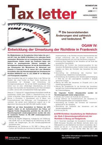 Mise en page 1 - Société Générale Securities Services