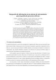 Integración de información en un entorno de entrenamiento para la ...