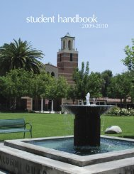 Handbook2009 - at www.my.woodbury.edu. - Woodbury University