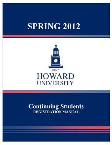 SPRING 2012 - Howard University