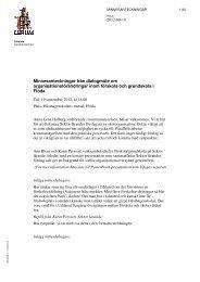 Minnesanteckningar från dialogmöte om ... - Lerums Kommun