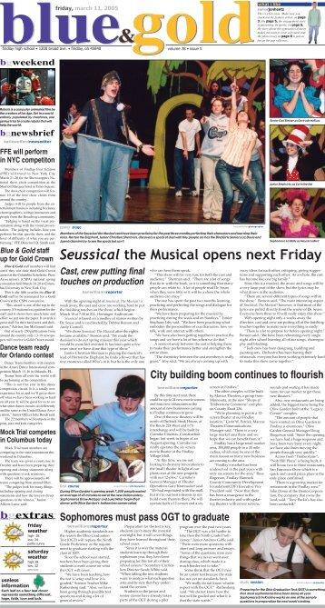 March, 2005 - Findlay High School