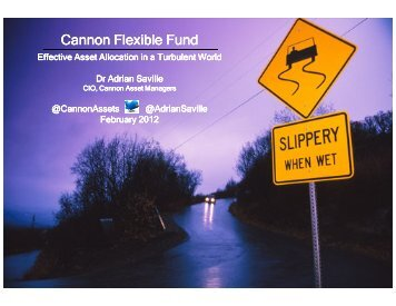 Cannon Flexible Fund - Cannon Asset Managers