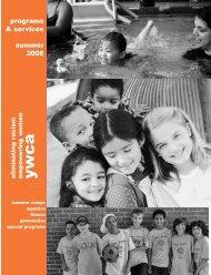 programs & services summer 2008