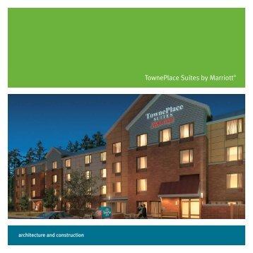 TownePlace Suites Proto-Model Design Brochure - Marriott