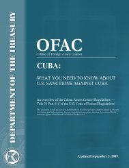 what you need to know about us sanctions against cuba - Office of ...