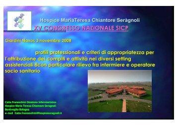 Intervento dottoressa Catia Franceschini - SICP