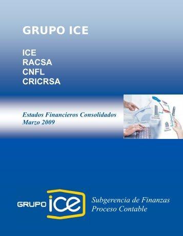 I Trimestre 2009 - Grupo ICE