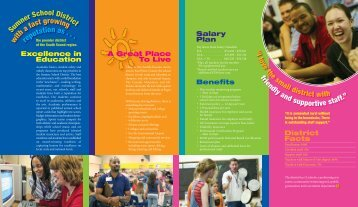 Recruiting Brochure - Sumner School District