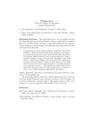 Problem Set 4 - TAMU Computer Science Faculty Pages