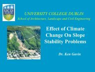 Effect of Climate Change On Slope Stability Problems - Geological ...