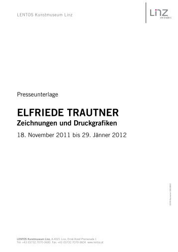 ELFRIEDE TRAUTNER Zeichnungen und Druckgrafiken