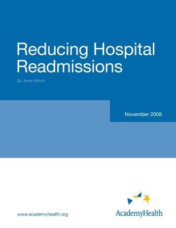 Reducing Hospital Readmissions - AcademyHealth