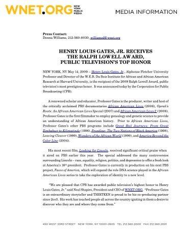 Press Release - W.E.B Du Bois Institute - Harvard University