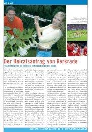 Der Heiratsantrag von Kerkrade - Wohnungsgenossenschaft