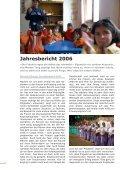 Jahresbericht 2006 Sozial- und Entwicklungshilfe - Kolping Schweiz - Seite 2