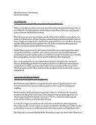 WienTourismus: Schönbrunn (Videotranskript) Dr. Elfriede Iby - B2B
