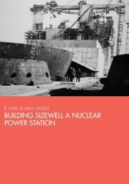 building sizewell a nuclear power station - University of Westminster