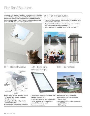 2013 CFP pricing & sizing - Velux