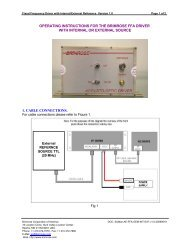 SUMan-AE-FFA-OEM-INT.. - Brimrose Corporation of America
