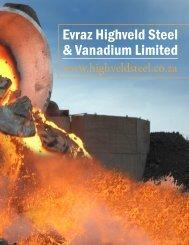 evraz highveld steel & Vanadium limited - The International ...