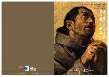La figure du saint et ses représentations - framespa