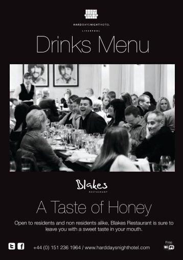 Wine List - Hard Days Night Hotel
