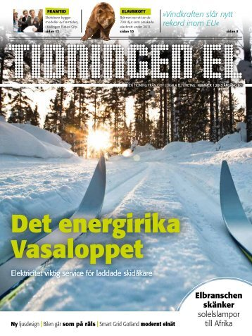 Tidningen El nummer 1 2013