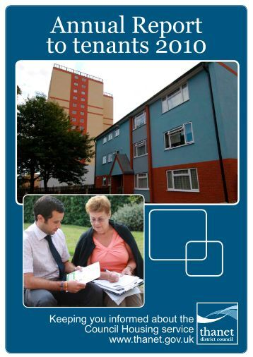 Download a copy of the Tenants Annual Report - Thanet District ...