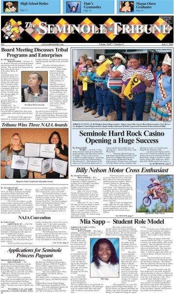 Seminole Hard Rock Casino Opening a Huge Success