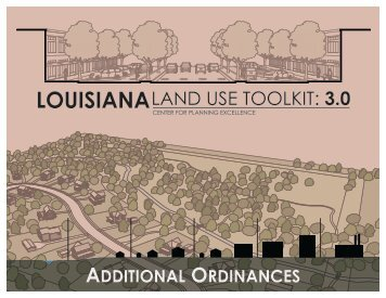 Louisiana Land Use Toolkit V3: Additional Ordinances - Code Studio