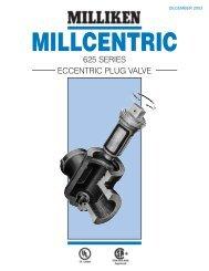 Milliken 625 Eccentric Plug Valve - PEC-KC.com