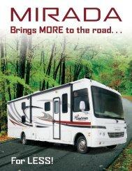 2011 Keystone Mirada Brochure - Olathe Ford RV Center